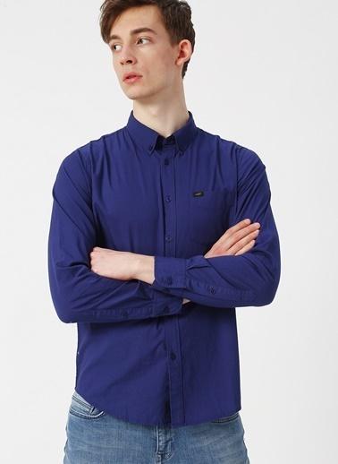 Lee&Wrangler Lee L880NBLH Mavi Erkek Gömlek Mavi